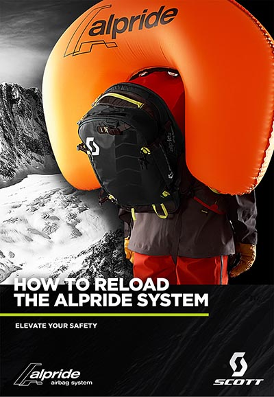 How to reload the alpride system