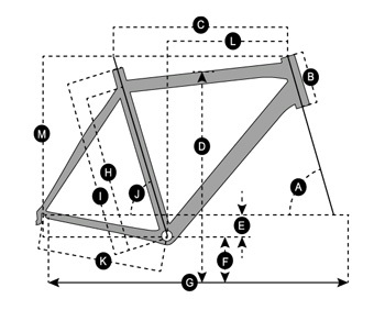 Geometry of Vélo SCOTT Speedster Gravel 20 Disc
