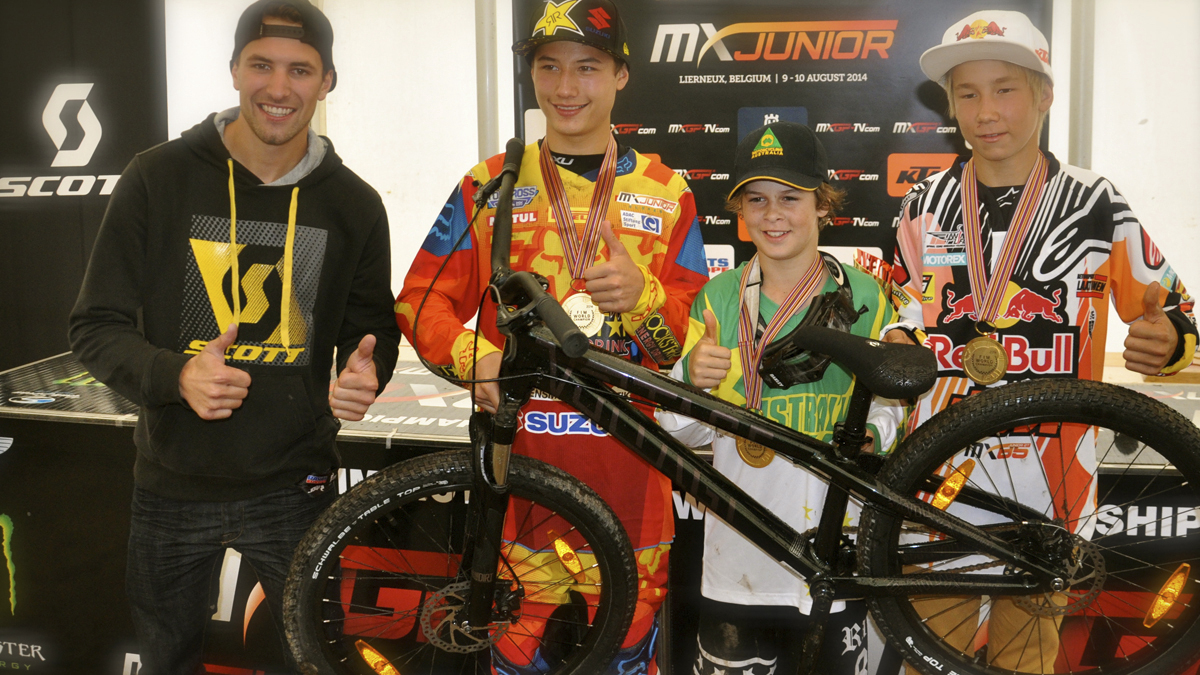 2014 FIM Junior MX World Championship Winners