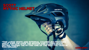 Mythic Bike Helmet reviewed by Spokemagazine.com
