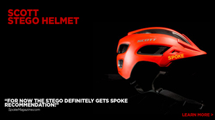 Stego Bike Helmet reviewed by Spokemagazine.com