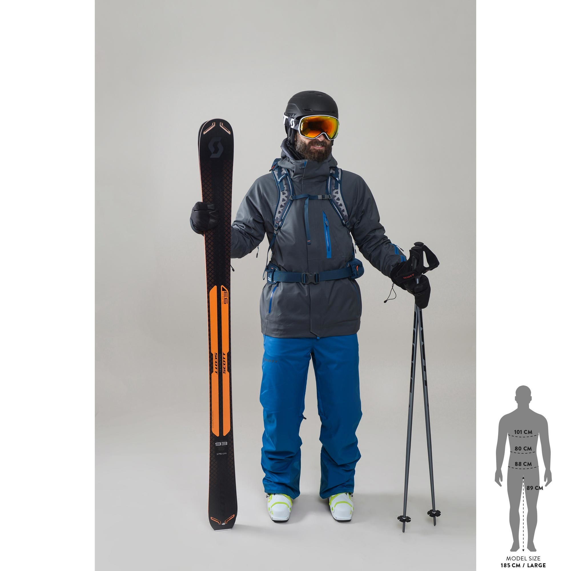 Bâton de ski SCOTT RS-18