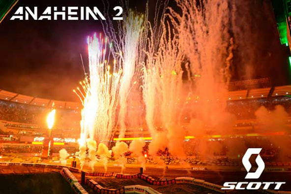 SCOTT Athletes at Anaheim 2 Supercross