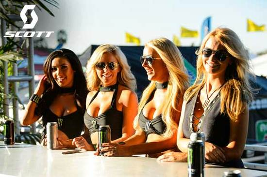 The girls of Monster Energy
