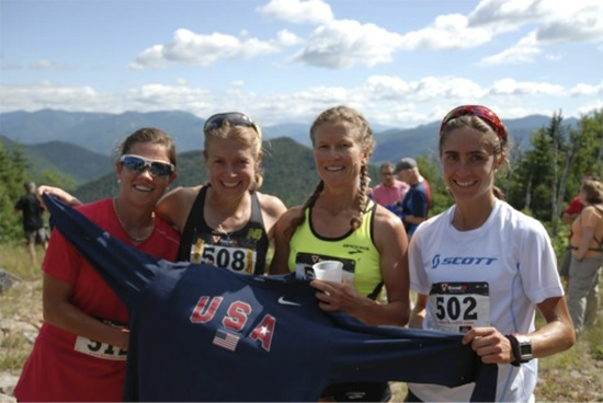 The 2012 U.S. Mountain Running Team
