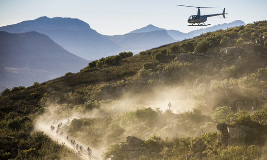 Cape Epic From the Air- Photo Credit: Michael Cerveny