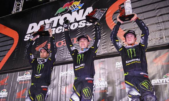 SCOTT Sweeps Podium Again