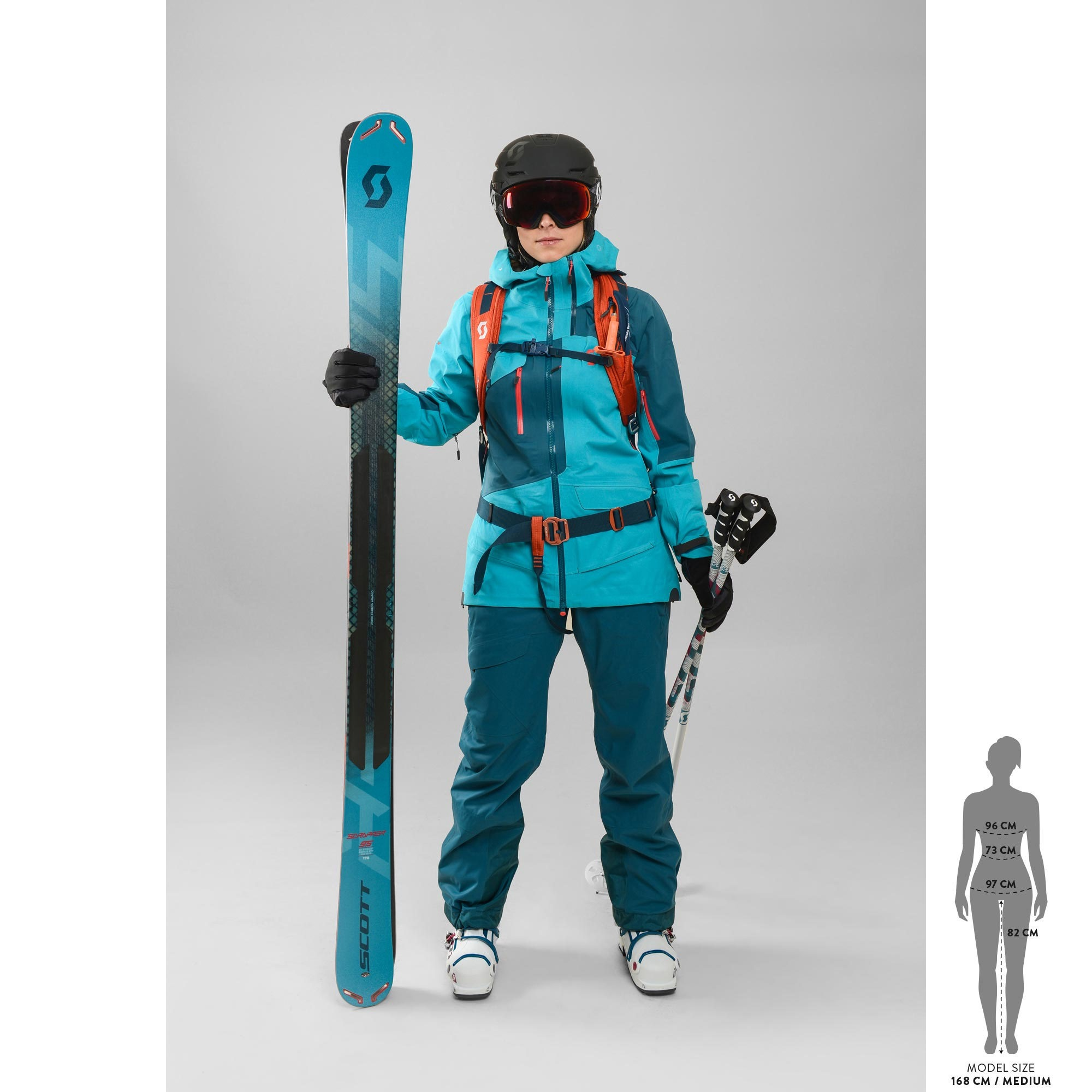 SCOTT Scrapper 95 Ski für Damen
