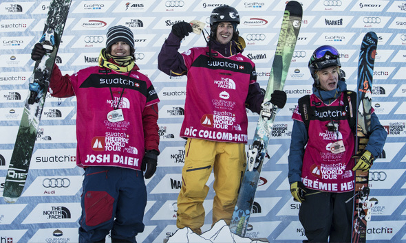 Successful start for the SCOTT freeride team at the freeride world tour 2014