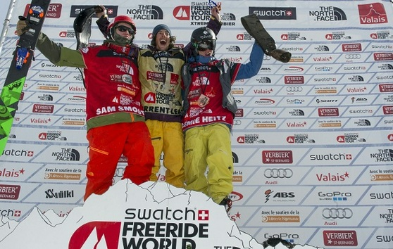 Loic Collomb Patton Champion du Monde de Freeride 2014