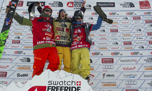 Loïc Collomb-Patton wins overall Freeride World Tour 2014