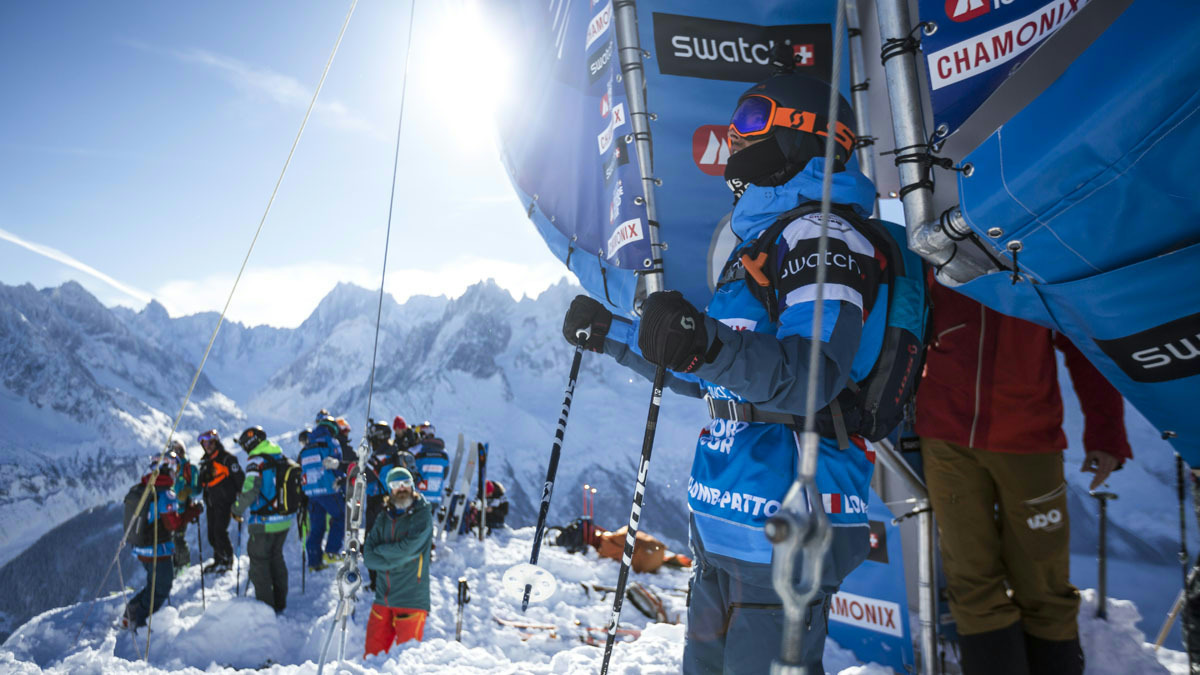 Loic Collomb Patton nouveau Champion du monde de Freeride