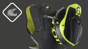 Full Face Helmet Carry System