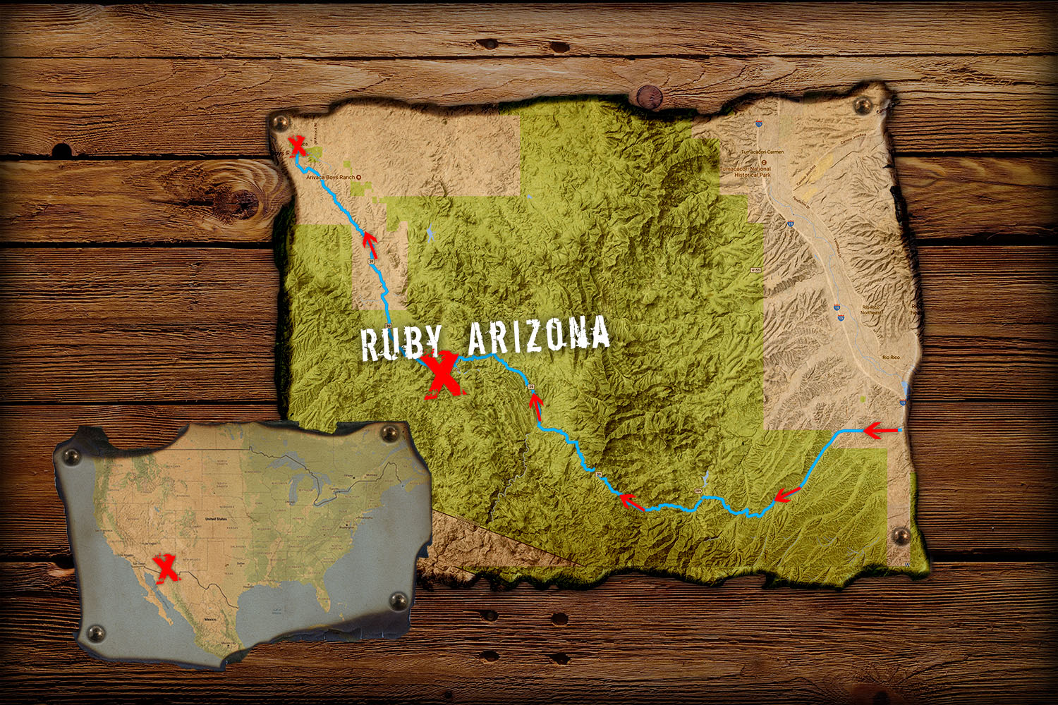 Ruby Arizona Map.Gravel Tripping Ghost Town Ep 1 Scott Sports