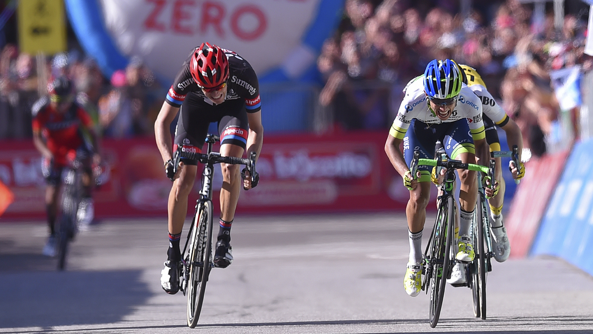 Chavez Wins Giro d'Italia Queen Stage