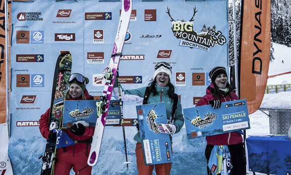 Second victory for Lorraine Huber at 4* Freeride World Qualifier event