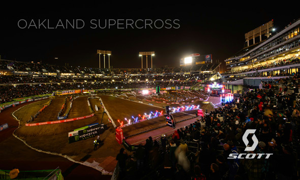 SCOTT Moto Athletes at the Oakland Supercross