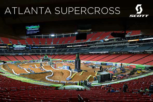 SCOTT Athletes at the Atlanta Supercross