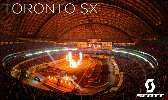 SCOTT Athletes at the Toronto Supercross
