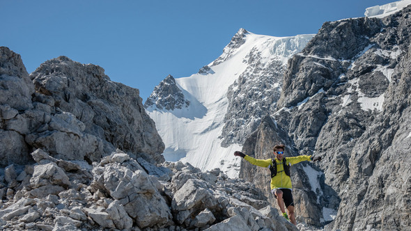 MARCO DE GASPERIS REKORD AM MT ORTLES