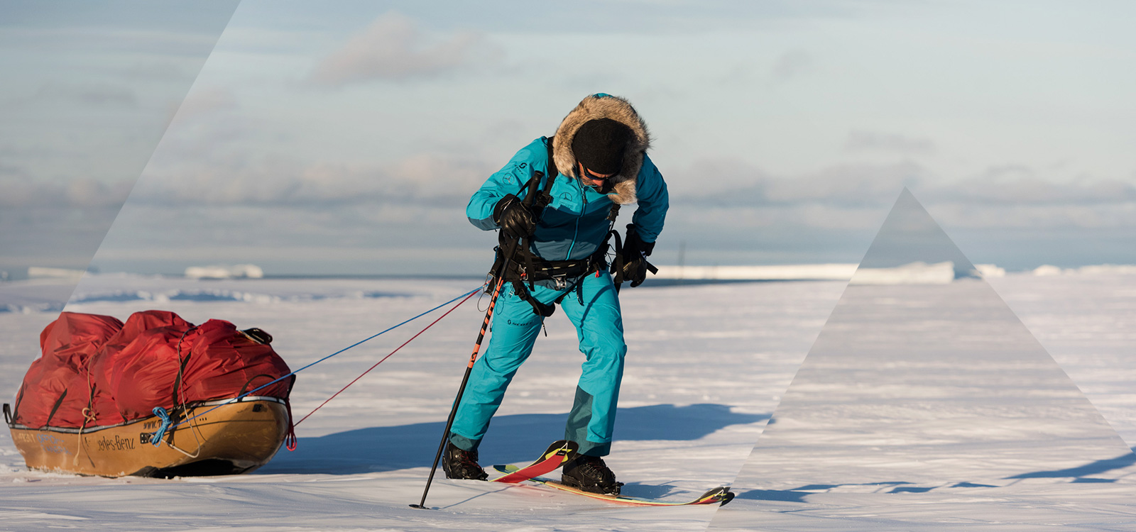 Longest solo crossing of antartica