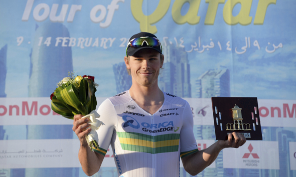 Hepburn Wins Tour of Qatar Individual Time Trial