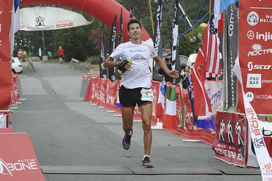 Sage Canaday at the UROC 100