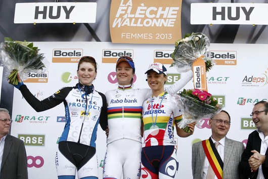 Elisa Longo-Borghini  Claims Second at La Flèche Wallonne Féminine