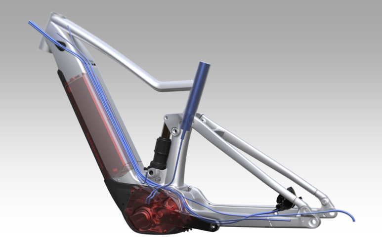 SCOTT eRIDE Integrated Design