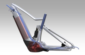 SCOTT E-MTB Integrated Design