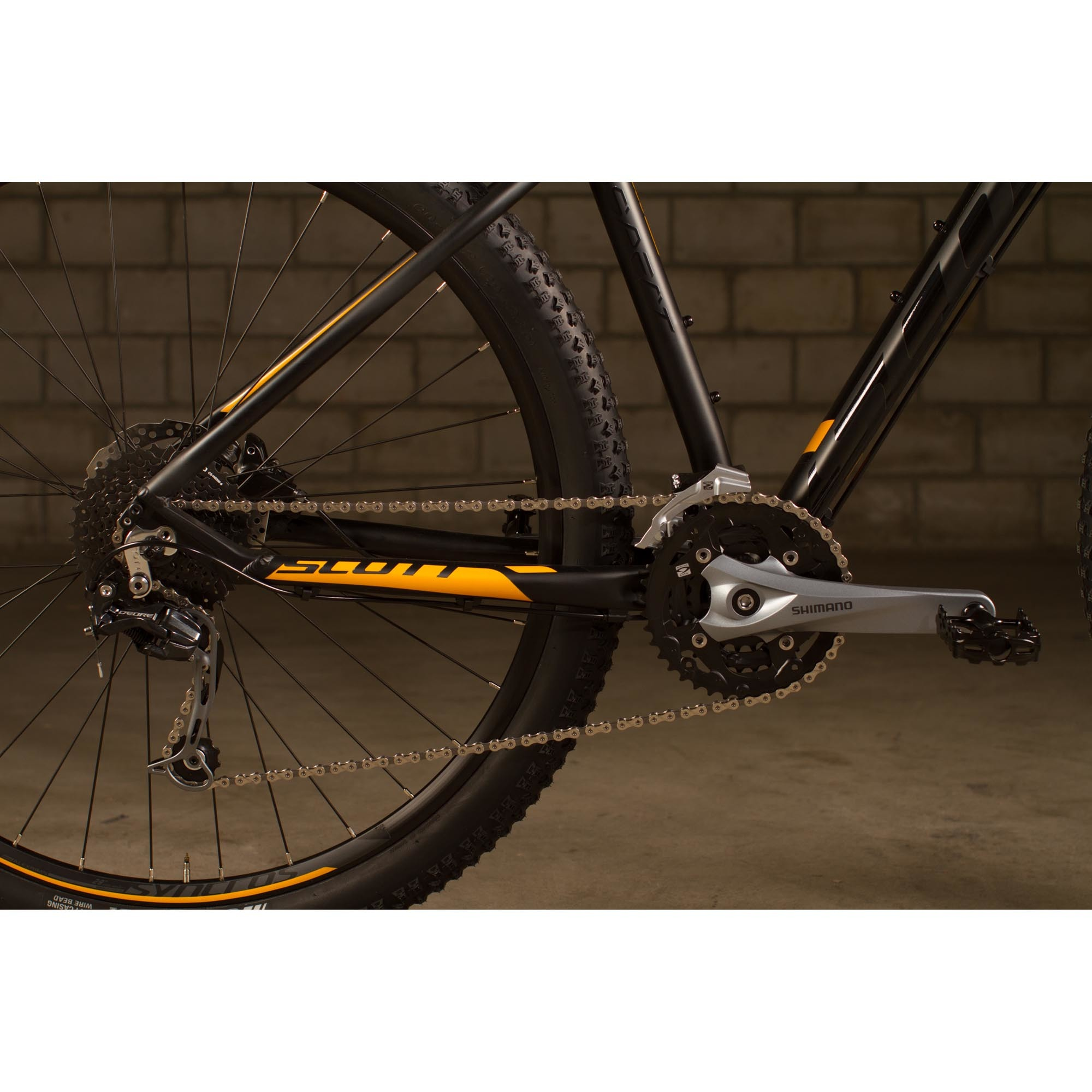 SCOTT Aspect 730 black/yellow Bike