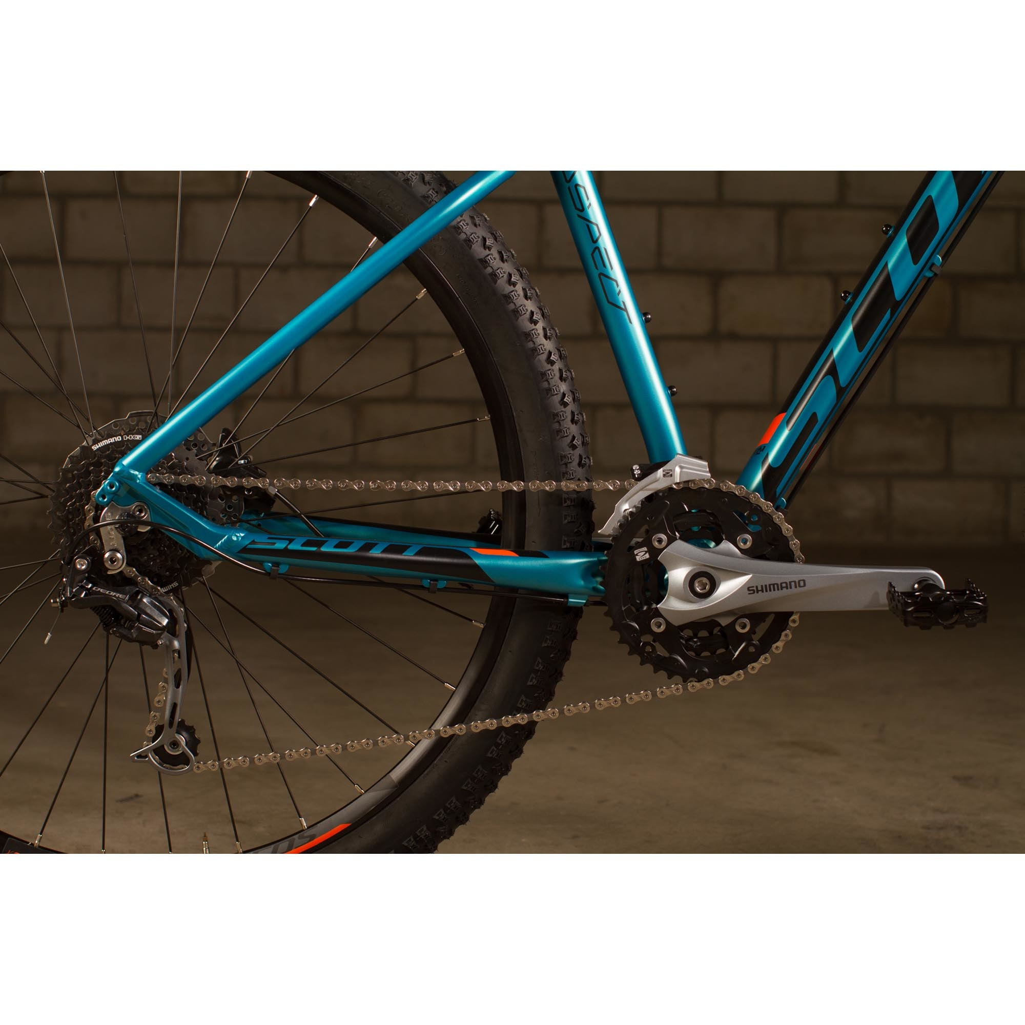 SCOTT Aspect 930 Bike blau/orange