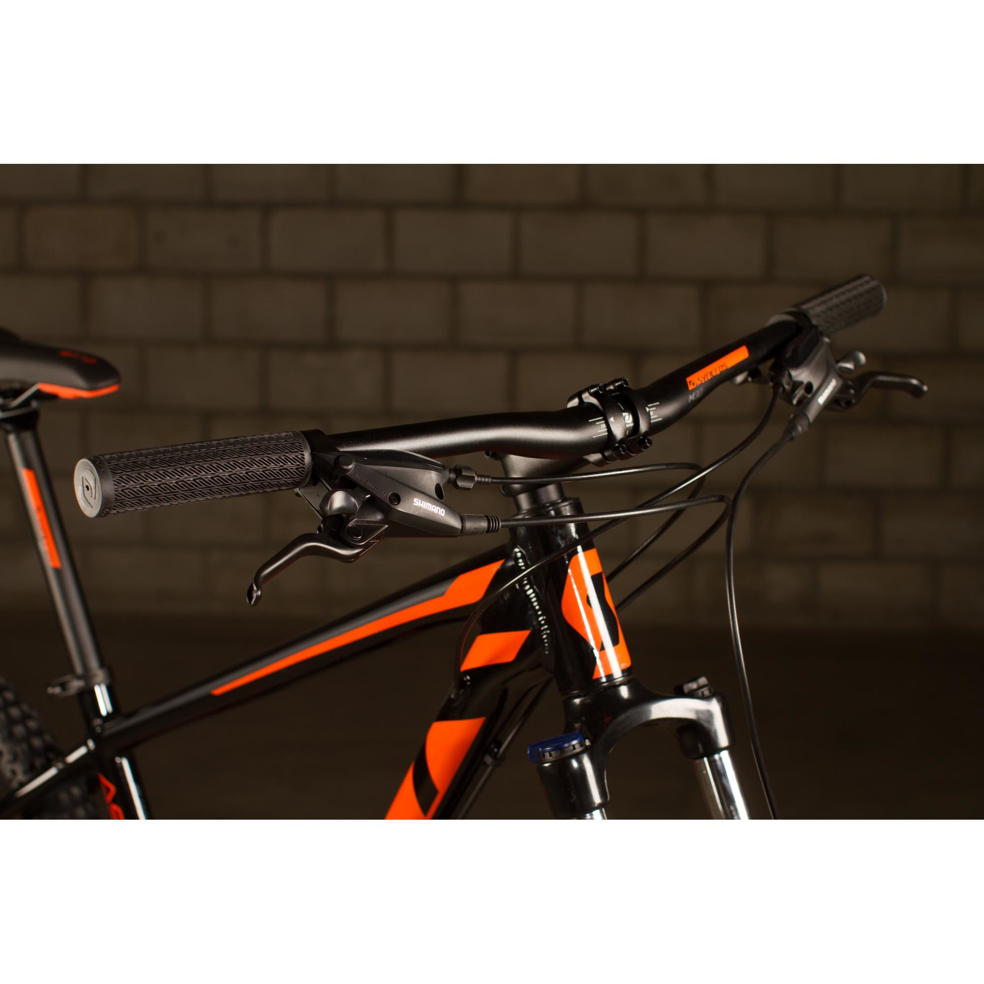 Bicicletta SCOTT Aspect 750 black/orange
