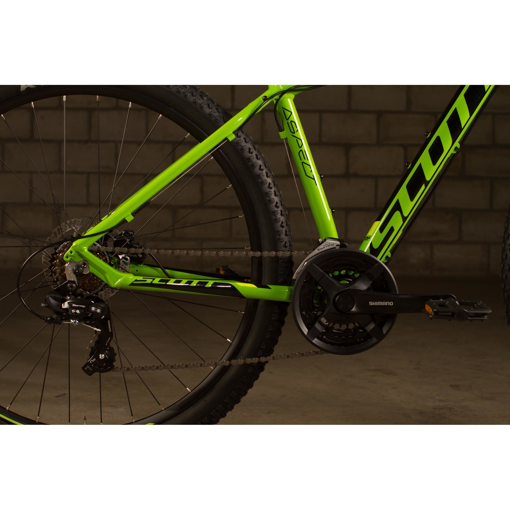 SCOTT Aspect 960 green/yellow Bike