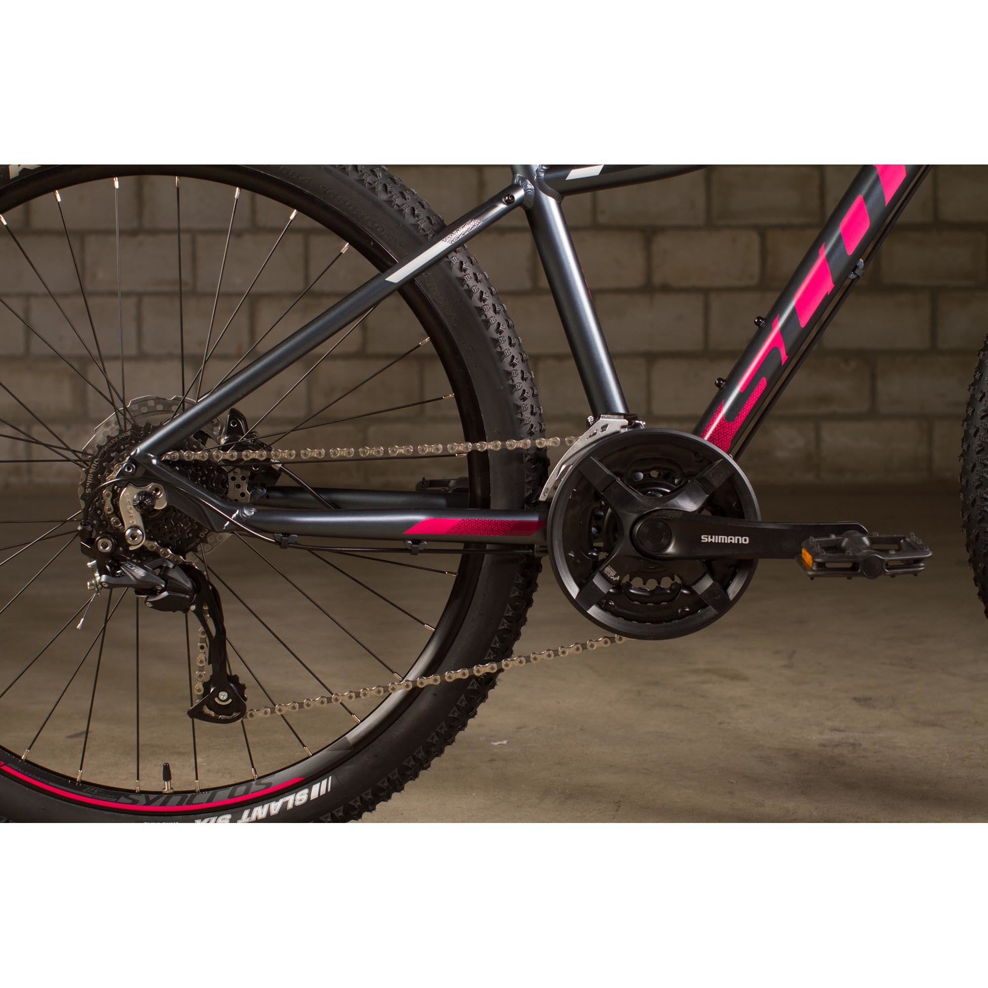 Bicicletta SCOTT Contessa 720 black/pink