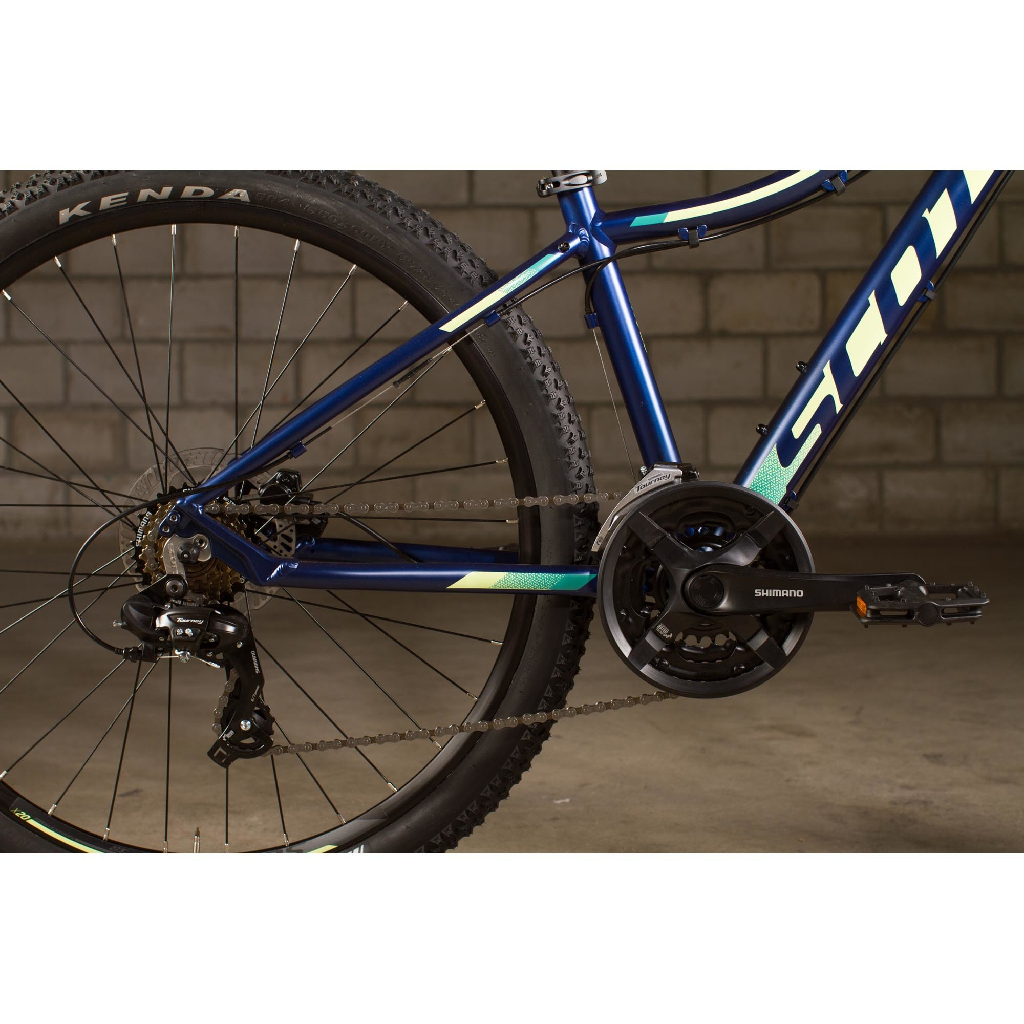 SCOTT Contessa 730 dark blue/teal Bike