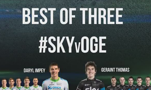 Team Sky v ORICA-GreenEDGE - #SKYvOGE - Round 1
