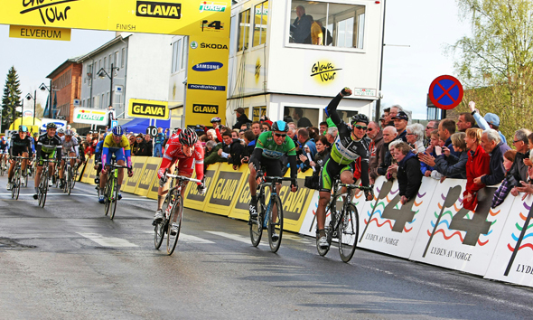 Aidis Kruopis sprints to Victory in Norway