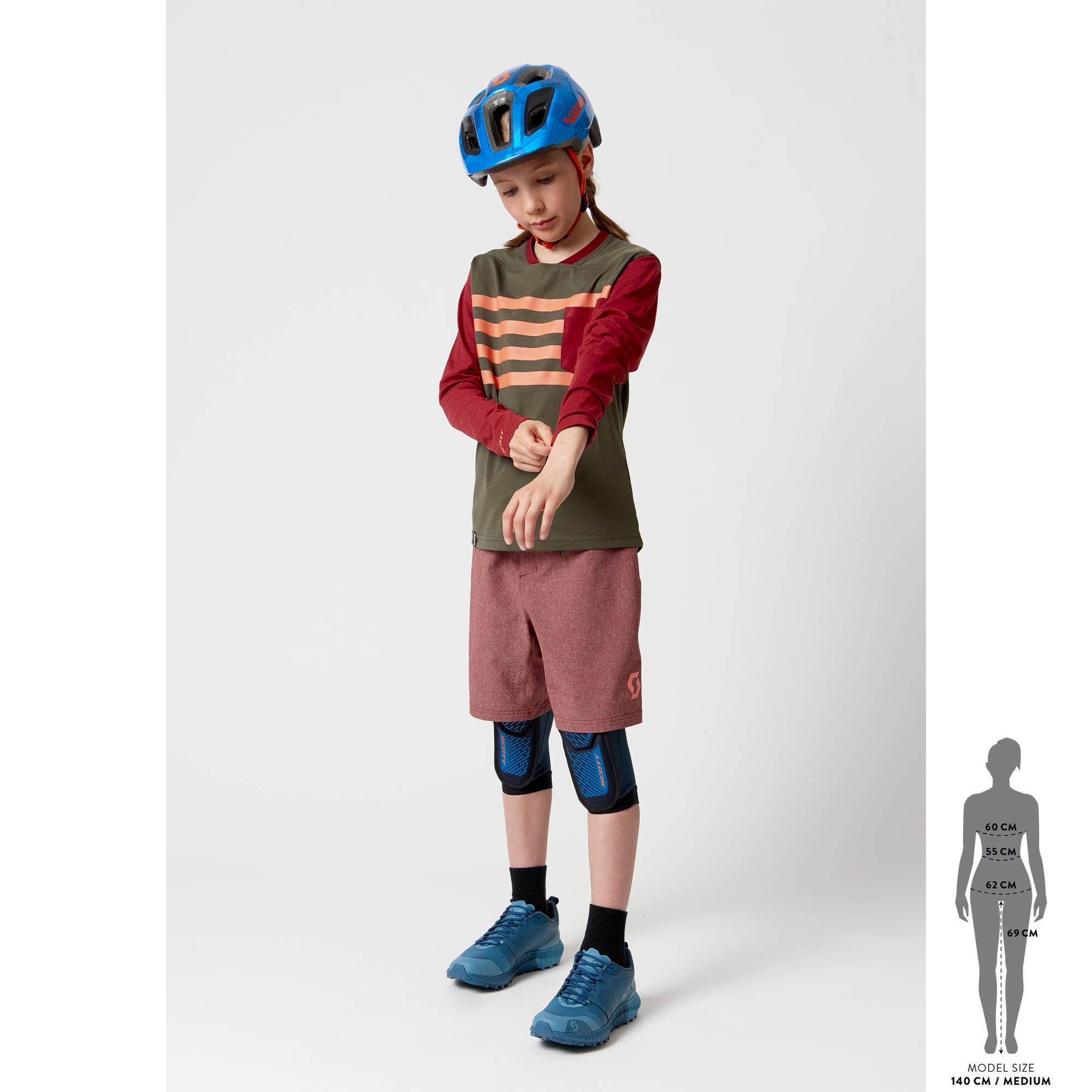 Maglia junior SCOTT Trail Dri m/l