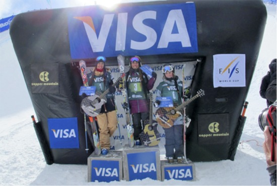 Superpipe podium