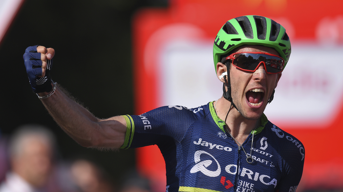 Yates Wins Stage 6 at Vuelta a Espana
