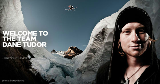 SCOTT Sports signs Dane Tudor on Outerwear and Skis
