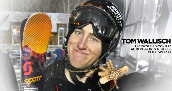 Tom Wallisch Top Action Sports Athlete