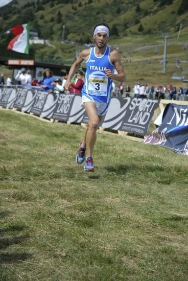 Marco De Gasperi at the World Mountain Running Championships