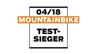 Test Winner – MountainBike 04/18