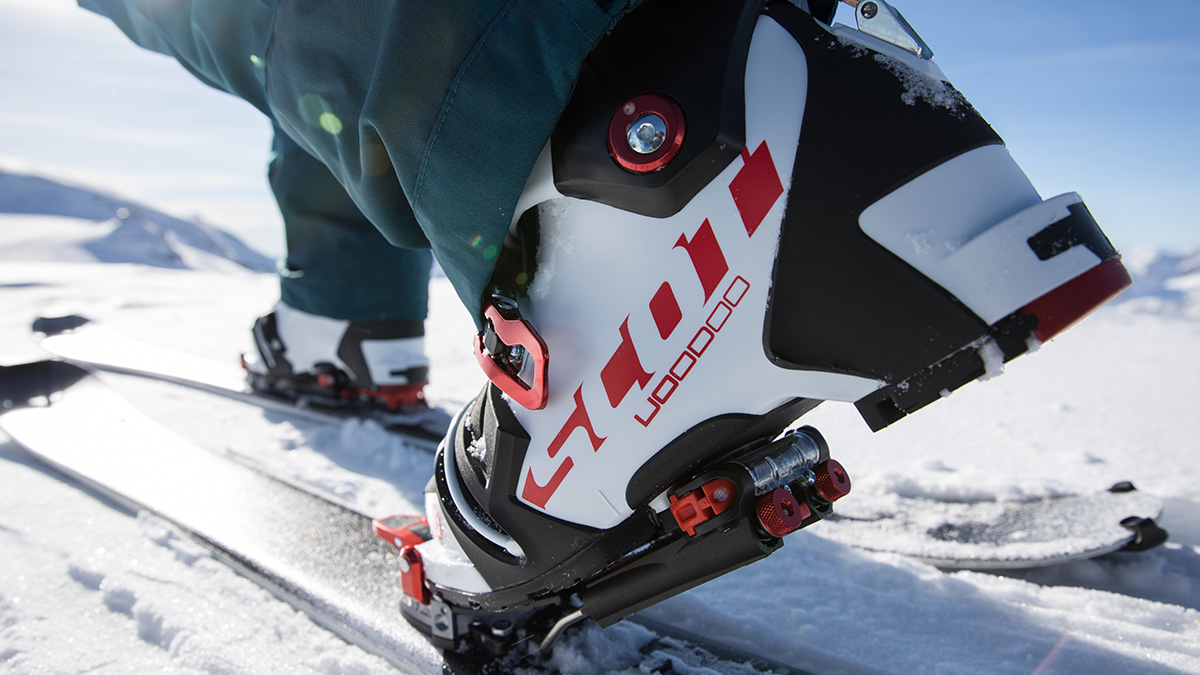 The original NTN system – Terminator X with Freeride binding.