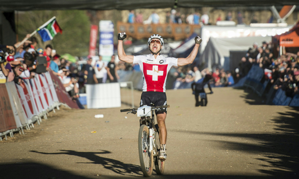 Nino Schurter is the 2013 XCO World Champion