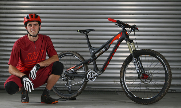 Remy Absalon Signs for SCOTT Sports