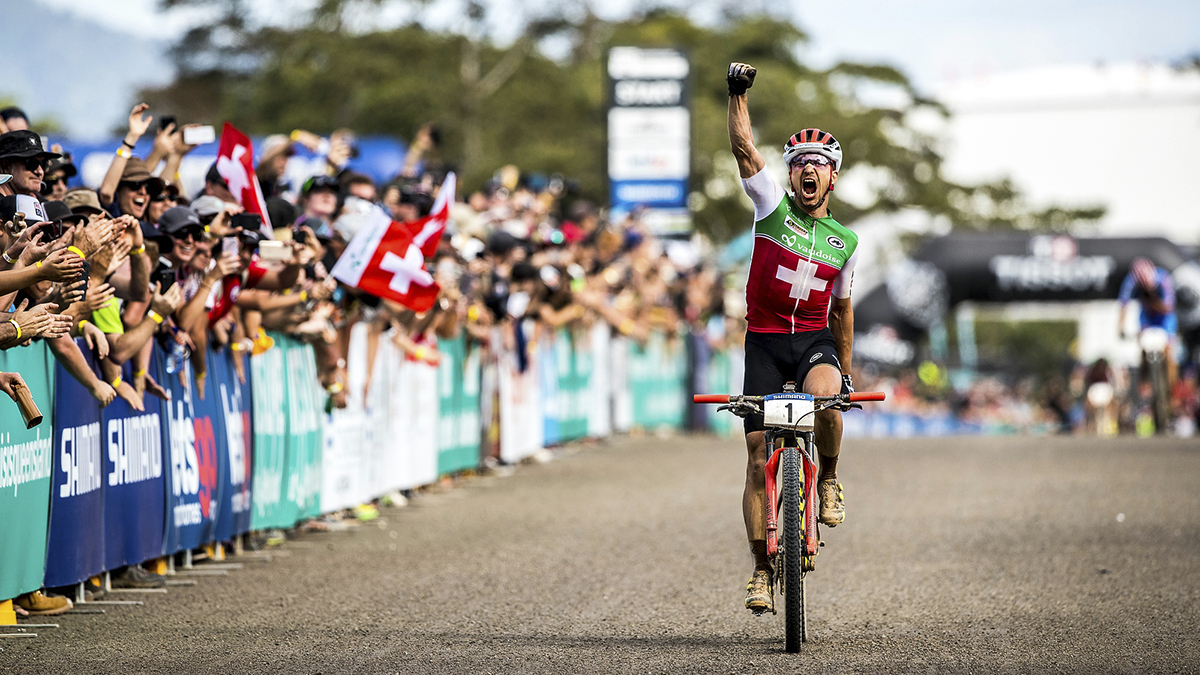 Triple Crown Champion – Nino Schurter Dominates Mountain Biking