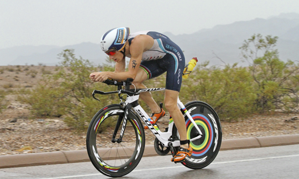 Kienle kicks off his season with a podium finish at 70.3 Oceanside